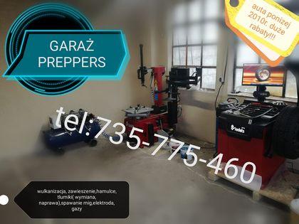 garaż preppers